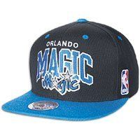 best website 4498b c1e7d Orlando Magic Mitchell   Ness Hardwood Classics Team Arch 2-Tone Snapback  Hat