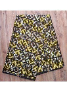Yellow Wax Patterned Shorts, Wax, Yellow, Summer, Fashion, Moda, Printed Shorts, Summer Time, Fashion Styles