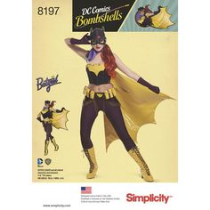If you want to cosplay as a DC Comics Bombshell at the next comicon you now have patterns from Simplicity to make things a bit easier. Pattern sizes go up to 22. There are also patterns for...