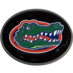 """Checkout our #LicensedGear products FREE SHIPPING + 10% OFF Coupon Code """"Official"""" Florida Gators Logo Belt Buckle - Officially licensed College product Fully cast, metal buckle  Bail fits belts up to 2 inches wide Classic oval shape with enameled details Florida Gators buckle - Price: $20.00. Buy now at https://officiallylicensedgear.com/florida-gators-logo-belt-buckle-2scb4"""