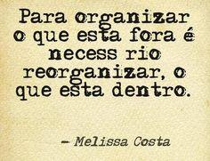 Organização  www.blogchegadebagunca.com.br