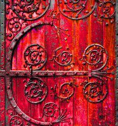 I love Red doors