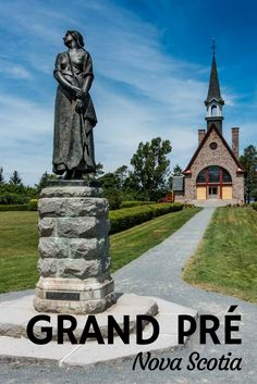 Site of Acadian Exile, Grand Pré, Nova Scotia - Travel Past 50 Vacation Trips, Dream Vacations, Vacation Ideas, Nova Scotia Travel, Canada Destinations, Visit Canada, Canadian History, Canada Travel, Historical Sites