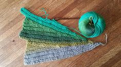 Ravelry: Crochet Winged Scarf pattern by Sharon Bates