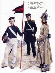 Russian infantry, Crimean War