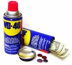 WD-40 Secret Stash Can Safe