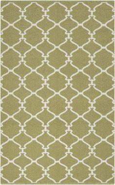 Surya's Fern green lattice Juniper rug (JNP-5017)