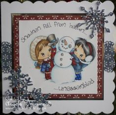 Friday Sketch using swalk stamps from Crafters Companion