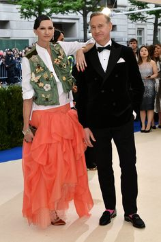 Jenna Lyons with Buccellati jewelry and Paul Feig