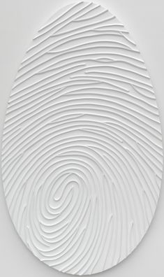 "Marc Quinn ""Labyrinth TS (172) Monochrome"" (2011) Técnica mixta: óleo, acrílico y silicona sobre lienzo. Medidas: 172 x 102 x 4.5 cm"