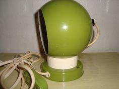 Lamp/magnetlampe - 1960-70s. #trendyenser #lamps #lampe #danishdesign #danskdesign #retro #vintage #70s. From www.TRENDYenser.com. SOLGT.