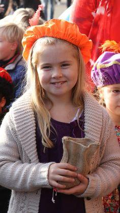 Prinses Amalia viert 11e verjaardag Netherlands