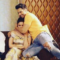 Varun Dhawan and Alia Bhatt ❤️ Bollywood Couples, Bollywood Stars, Bollywood Celebrities, Alia Bhatt Varun Dhawan, Gigi Hadid And Zayn, Alia And Varun, Tarun Tahiliani, Best Love Stories, Beautiful Girl Photo