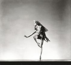 Maria Tallchief, principal dancer with the New York City Ballet, performing in George Balanchine's Orpheus, 1948, photo by George Platt Lynes Tallchief was a member of the Osage tribe and was America's first prima ballerina