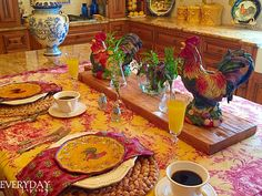 Tablescape Tuesday: Rise 'n Shine! – Everyday Living