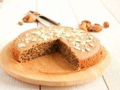 Gâteau à l'amande sans gluten, sans lait, sans beurre et sans farine