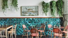 Cantabria está de moda. Restaurante el Italiano de Carlos Zamora. Grupo Deluz  #design #diseño #ceramica #Cantabria #tile