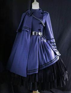 Kawaii Fashion, Lolita Fashion, Cute Fashion, Pretty Outfits, Pretty Dresses, Beautiful Outfits, Cosplay Dress, Cosplay Outfits, Old Fashion Dresses