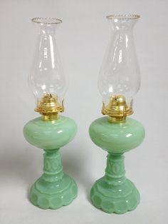 Jade oil lamps $142