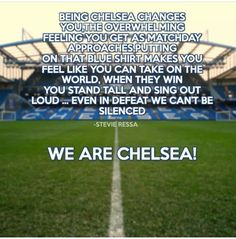 We Are CHELSEA!