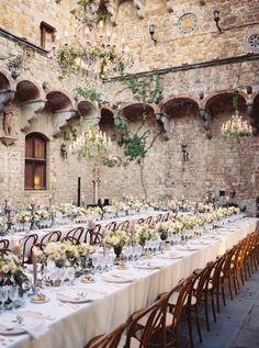 Italian Destination Castle Wedding in Florence