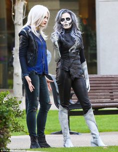 The Villains, Italia Ricci as the Silver Banshee (right)