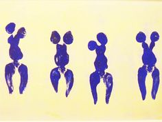 """Come lasciare sulla tela una """"traccia di vita""""? #YvesKlein elabora nel 1958 il concetto di #antropometria e il corpo diventa pennello vivente. Lasciati impregnare dall'arte domenica 9 novembre alle 17.30 con WAAM.  Per prenotare la visita guidata basta mandare una mail a waamtours@gmail.com  http://www.waamtours.com/?p=1968"""