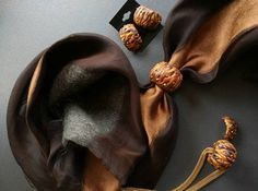 Guarda questo articolo nel mio negozio Etsy https://www.etsy.com/it/listing/466801454/parure-bowls-sciarpe-collane-anelli-per