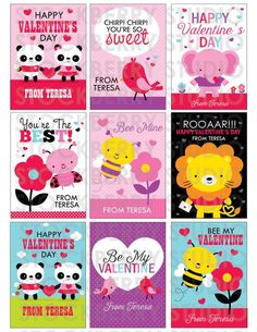 Items similar to Kids Classroom Valentines Printable - Valentine Kids Classroom Cards - ladybug Personalized Kids Valentines Cards - toddler valentine cards on Etsy Valentines For Kids, Happy Valentines Day, Valentine Cards, Valentine's Cards For Kids, Your Cards, Photo Invitations, Party Kit, Digital Stamps, Card Sizes
