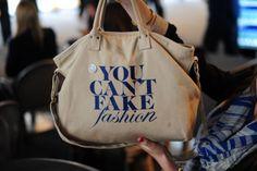 you can't fake fashion