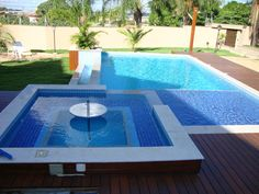 piscinas com spa - Google Search