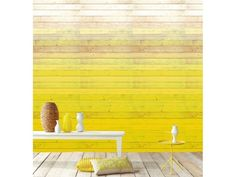 Ombre wallpaper: Remodelista