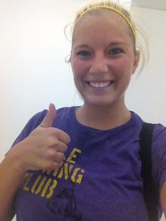 Member @bsanlo1 in her TITLE gear after a 6am class. We like the matching headband! #TITLEfanpics