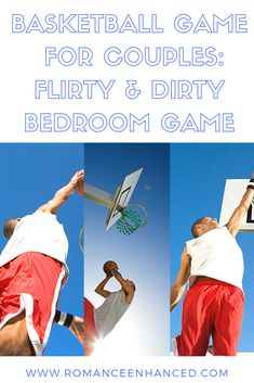"Are you looking for a fun and flirty gift for your spouse that loves basketball?  Checkout the Flirty and Dirty Basketball Game from Romance Enhanced Consulting. Playing dirty and ""foul-play"" is encourgaed in this basketball bedroom game from Romance Enhanced Consulting. This bedroom game will have you both laughing and flirtying together again. When playing this game you will build your relationship in fun and sexy ways that you both will enjoy!  #basketballgift #giftforhim #valentinesgift"