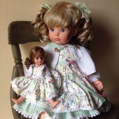 "Susan Wakeen 20"" Girl With Baby Doll"