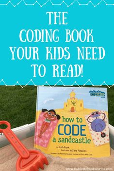 Get kids excited for STEM with this coding book for kids, as well as these fun coding games and activities! #STEMbook #CodingForKids #CodingActivities #CodingGames #STEMGames