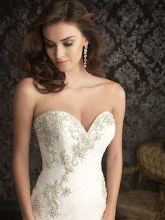 Jaclyn - Bridal Dress Wedding Gown Marriage Matrimony Wedlock $360 via @Shopseen