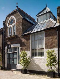 Thomas Woolner's studio, Marylebone Mews photograph 2015 (c)CRedgrave English Heritage