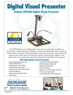 dukane-dvp-508-visual-presenter by SchoolVision Inc. via Slideshare