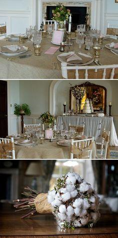 55-Elegant-Cotton flower-wedding inspiration-Poundon House-Elian Concept Weddings