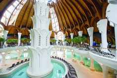 Makó Hagymatikum Thermal Bath - More spas Organic Architecture, Beautiful Architecture, Transition Town, Hungary Travel, Heart Of Europe, Marina Bay Sands, Budapest, Adventure Travel, Countryside