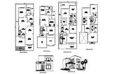 Bungalow plan with detail dimension in autocad Cad Drawing, Drawing Room, Bungalow, Cad File, Steel Detail, Dressing Area, Study Rooms, Ground Floor Plan, Second Story