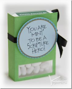 Scripture Hero - Tic Tac - Freebie Printable