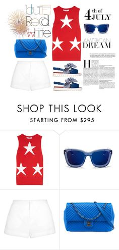 """Color of Fashion: The Red, White, and Blue!"" by harperleo ❤ liked on Polyvore featuring MaxMara, 3.1 Phillip Lim, Marni, Chanel, redwhiteandblue, july4th and coloroffashion"