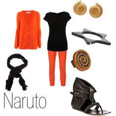 Naruto casual cosplay