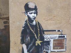 Banksy y sus polémicos graffitis - Taringa!