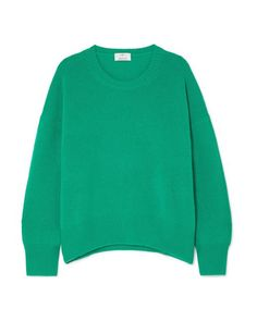 Allude - Green Oversized Cashmere Sweater - Lyst Green Sweater 08fe59804