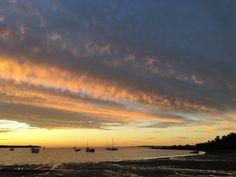 Sunset on Dalpura Beach June 2016 Beautiful Sunrise, Bird Watching, Kayaking, 21st, June, Swimming, Island, Beach, Artist