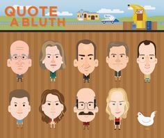 Arrested Development Interactive: Quote a Bluth