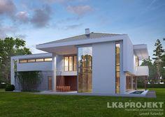 Dom, projekty domów gotowy, domy jednorodzinne projekty, dom, projekty domów – LK & PROJEKT LK&1121